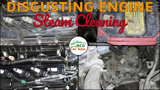 How to Clean Engine Bay | Steam Cleaning | Engine Decreasing | Eco Car Spa | Pondicherry