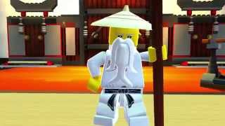 LEGO Universe: Ninjago Masters of Spinjitzu HD video game trailer - PC Mac
