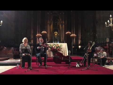 Christiane Bopp, Mat Maneri & Maggie Nicols @ Église Saint-Eustache 11-28-16