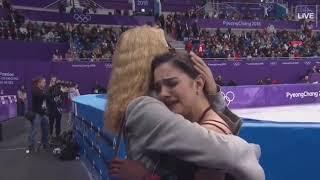 Evgenia Medvedeva 2018 Pyeongchang FS NBC