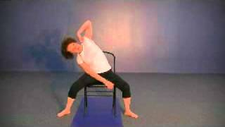 Back Stretches & Hip Stretches on the Chair