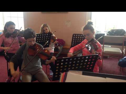Kilkenny Junior Strings Eleanor Rigby - in rehearsal , without me conducting!