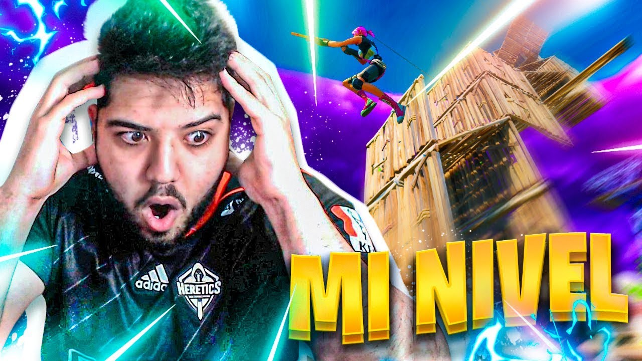 ESTE es MI NIVEL en FORTNITE COMPETITIVO - Rike - YouTube