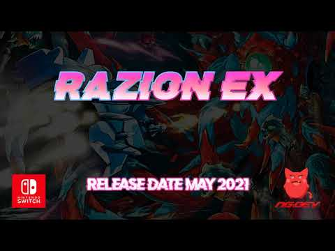 Razion EX Nintendo Switch Trailer 60 FPS