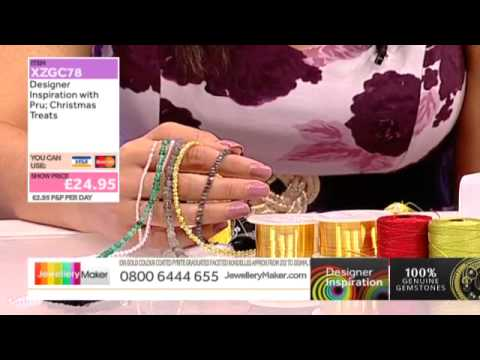 Designer Inspiration Christmas Show - Learn Kumihimo [Tutorial]: Jewellery Maker DI 25/09/14