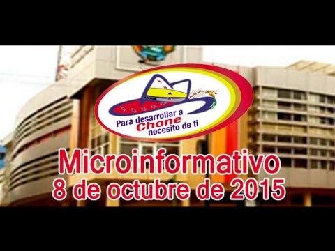 Microinformativo 8 octubre 2015