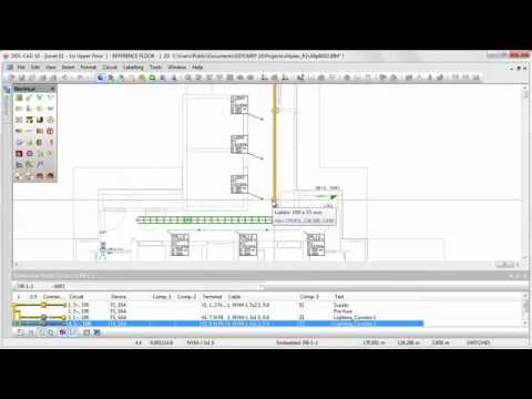 DDS-CAD 10: Optimal cable planning