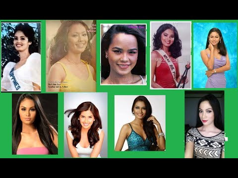 Philippines' Runners Up in Miss Universe Pageant - YouTube