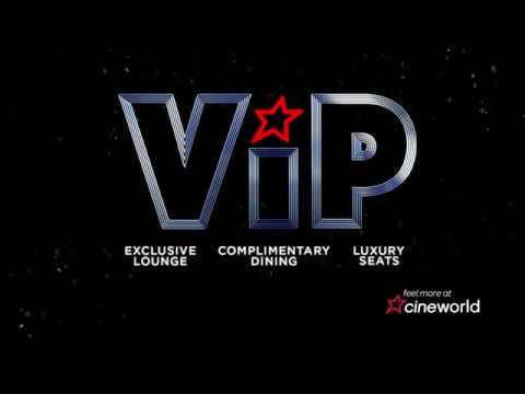 Experience VIP at Cineworld Sheffield