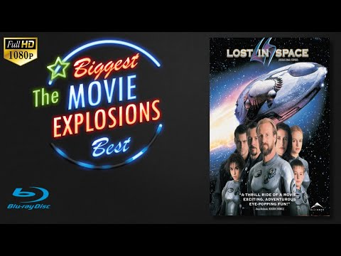 The Best Movie Explosions: Lost in Space (1998) Spaceship Explodes