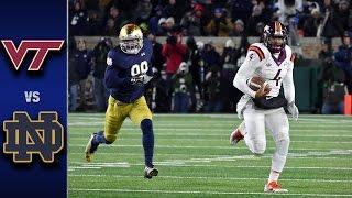 Virginia Tech vs. Notre Dame Football Highlights (2016)