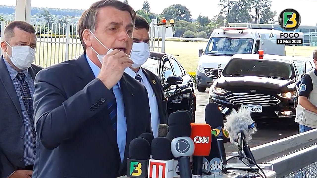 Bolsonaro fica indignado com medida de governadores, fala sobre Declaração de Moro, Doria e mais