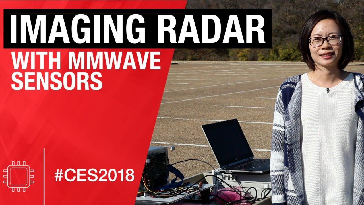 Imaging radar using multiple single-chip FMCW transceivers