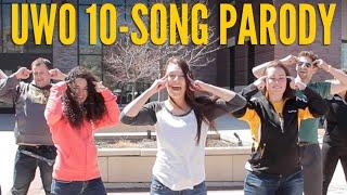 UW Oshkosh 10 Song Parody