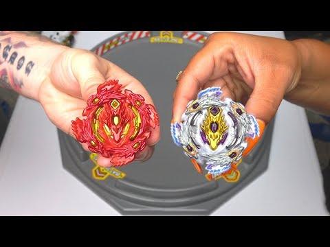 REAL BLOODY LONGINUS vs BLOODY LONGINUS | Beyblade Burst Super Z ベイブレードバースト 超ゼツ