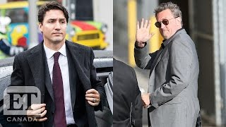 Matthew Perry VS Justin Trudeau At The Junos   AWARDS
