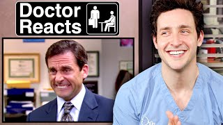 "Doctor Reacts To ""The Office"" Medical Scenes"