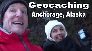 Geocaching Anchorage, Alaska