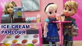 ICE CREAM PARLOUR WITH ACCESSORIES NEWBERRY ICE CREAM PARLOUR ANNA AND KRISTOFF WANT SOME ICE CRREAM