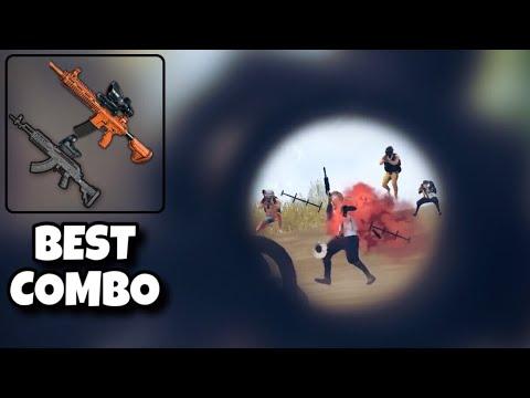 BEST COMBO ! | SOLO VS SQUAD | PUBG MOBILE