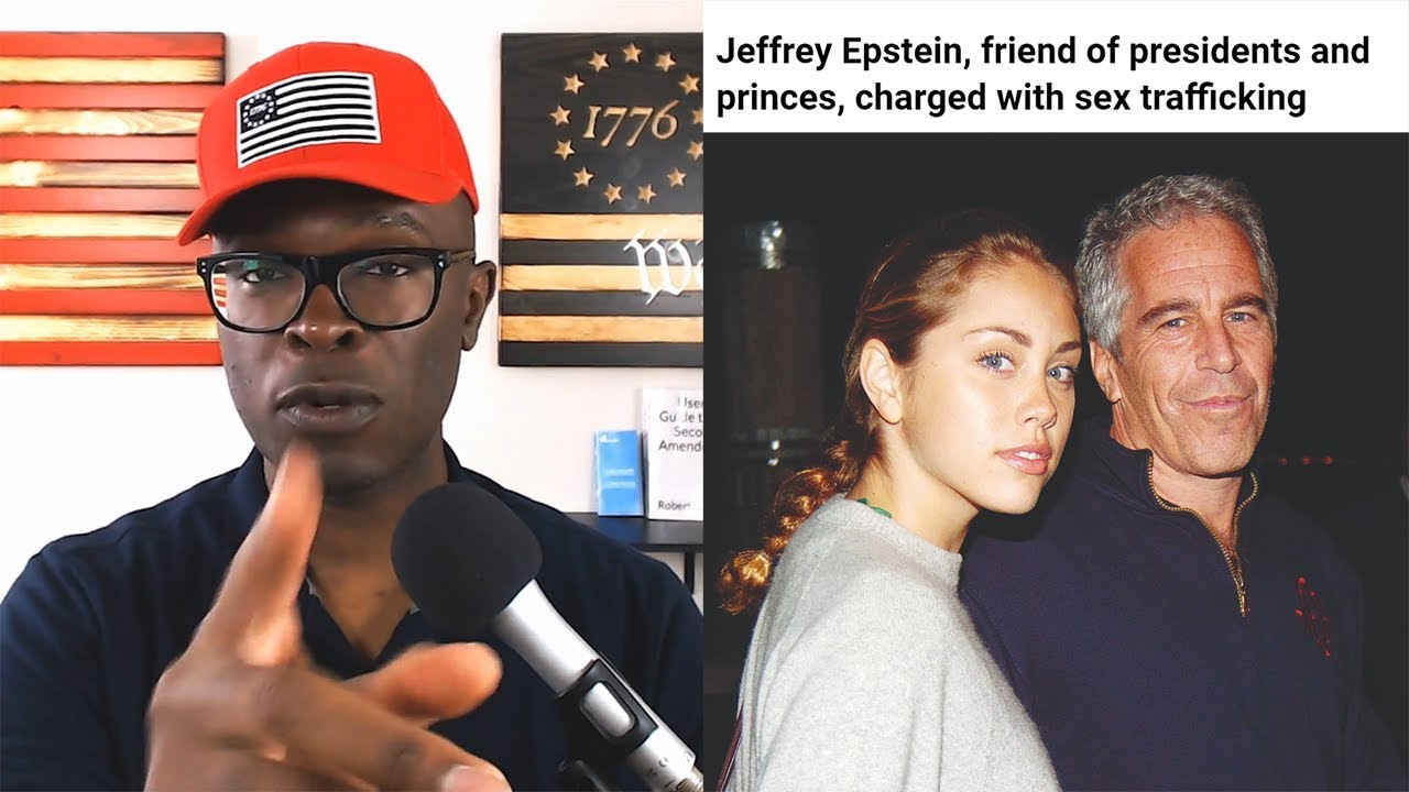 Anthony Brian Logan Jeffrey Epstein ARRESTED On FEDERAL Sex Trafficking Charges!