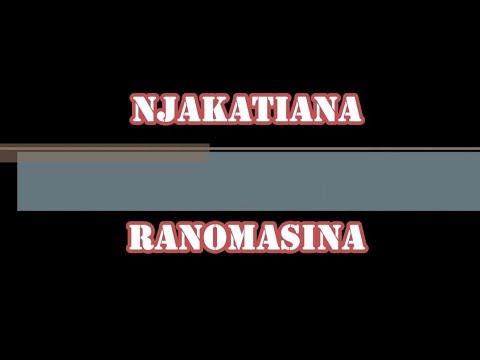 NJAKATIANA - Ranomasina (karaoké/instrumentale 2018)