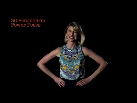 Amy Cuddy: 30 Seconds on Power Poses