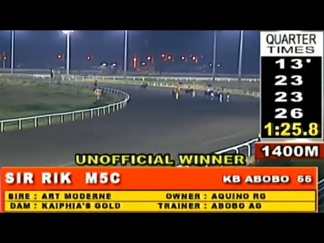 SIR RIK MMTCI - RACE 12 JANUARY 26, 2020 BAYANG KARERISTA HORSE RACING AT METRO TURF