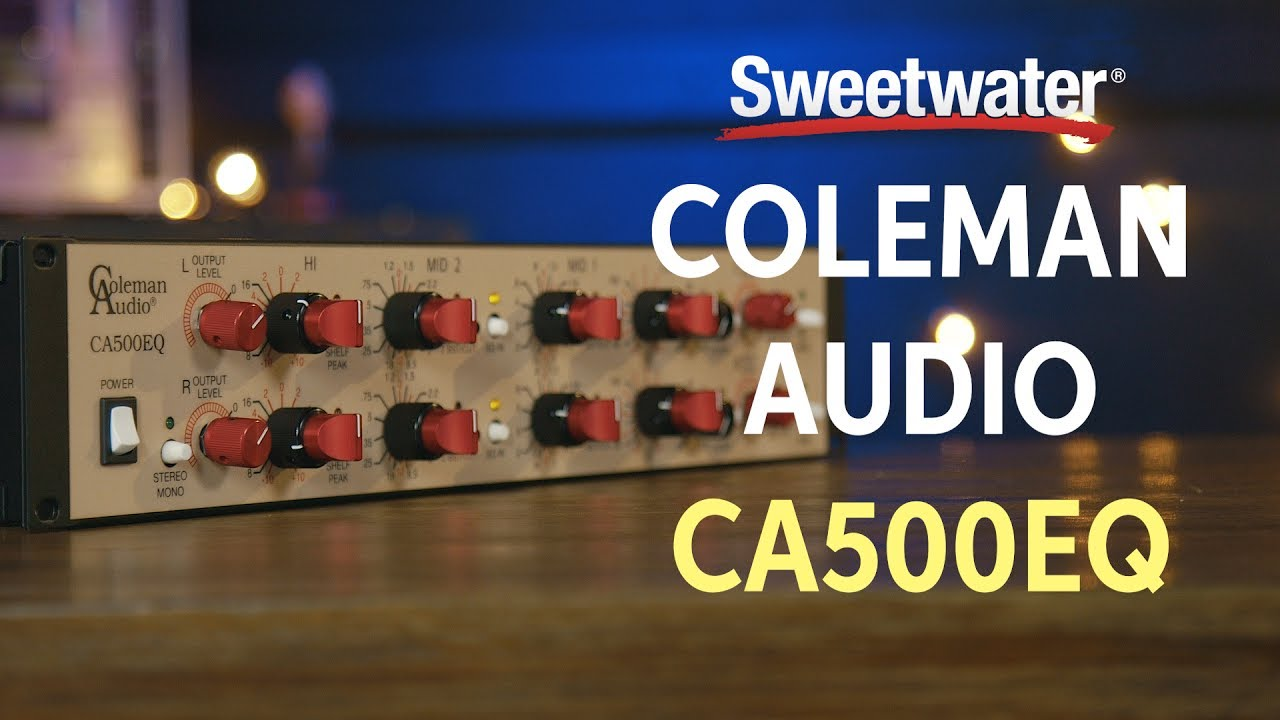Coleman Audio Ca500eq 4 Band Stereo Equalizer Overview Youtube 221510 Graphic Equaliser