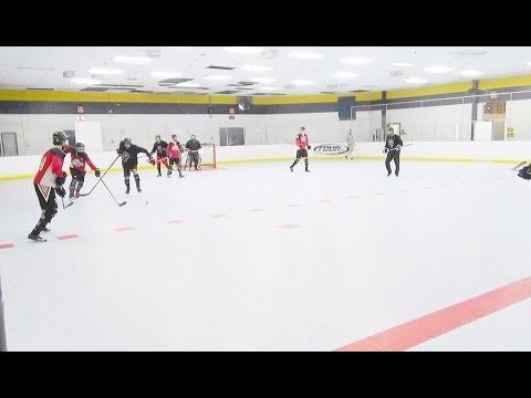 Dakuz vs. Hawks (2/25/17) Ball Hockey