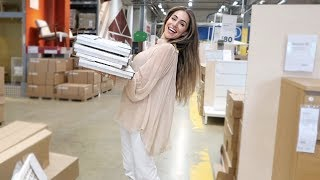 NEW HOUSE UPDATE - COME SHOPPING WITH ME TO IKEA | Lydia Elise Millen