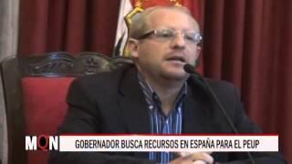 24/11/15  24:20  GOBERNADOR BUSCA RECURSOS EN ESPAÑA PARA EL PEUP