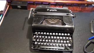 Печатная машинка Olympia Progress(, 2013-08-19T17:00:18.000Z)