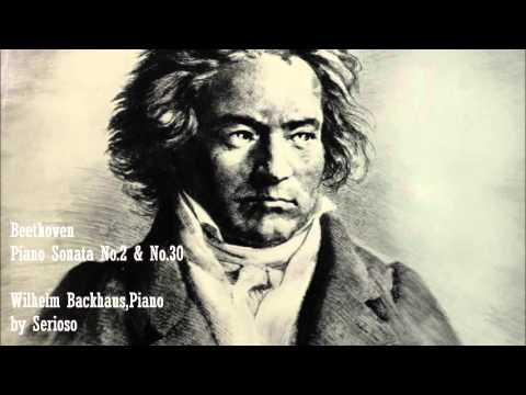 Beethoven, Piano Sonata No 2 and No 30, Backhaus