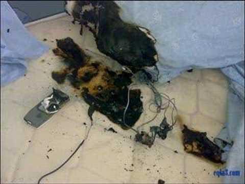 Explosion Batterie Telephone Portable Youtube