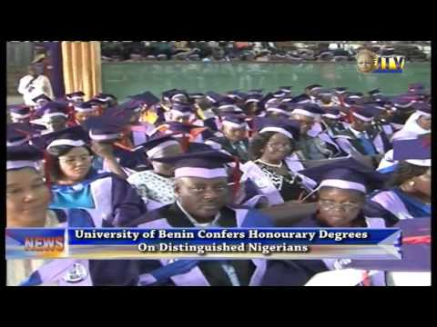 University Of Benin Confers Honourary Degrees On Distinguished Nigerians