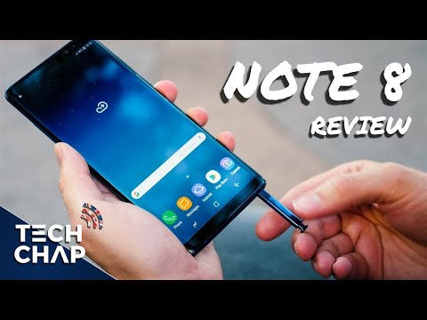 1 Week with the Galaxy Note 8 - Review | The Tech Chap