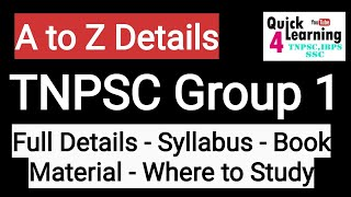 Download TNPSC Group 1 Full Detail Study plan 2019 | TNPSC Group 1 2019 | Mp3 and Videos
