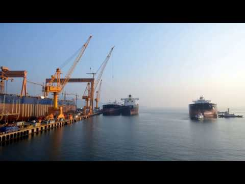 115k Aframax Tanker LAUNCHING