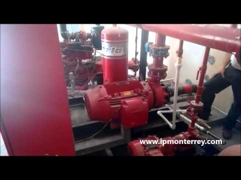 Instalación y puesta en marcha control contra incendios