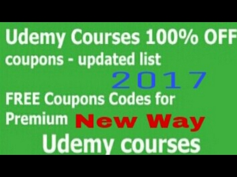 How To Get Udemy Paid  Course Free New Way 2017 !