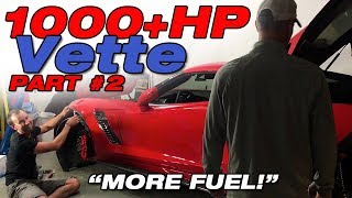 PART 2: Building a fuel system for the 1000hp ProCharged Corvette Z06