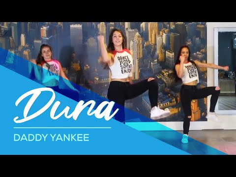Dura - Daddy Yankee - Easy Fitness Dance Video - Choreography #durachallenge - Ржачные видео приколы