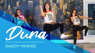 Dura - Daddy Yankee - Easy Fitness Dance Video - Choreography #durachallenge thumbnail