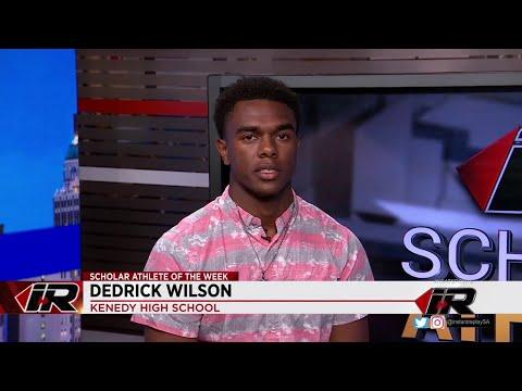 Scholar Athlete: Dedrick Wilson, Kenedy High School