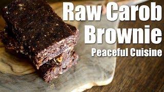 Raw Carob Brownie (raw Vegan) ☆ ローキャロブブラウニーの作り方