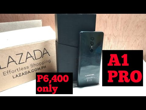 Unboxing Umidigi A1 Pro For Only 6,400 In Lazada Ph