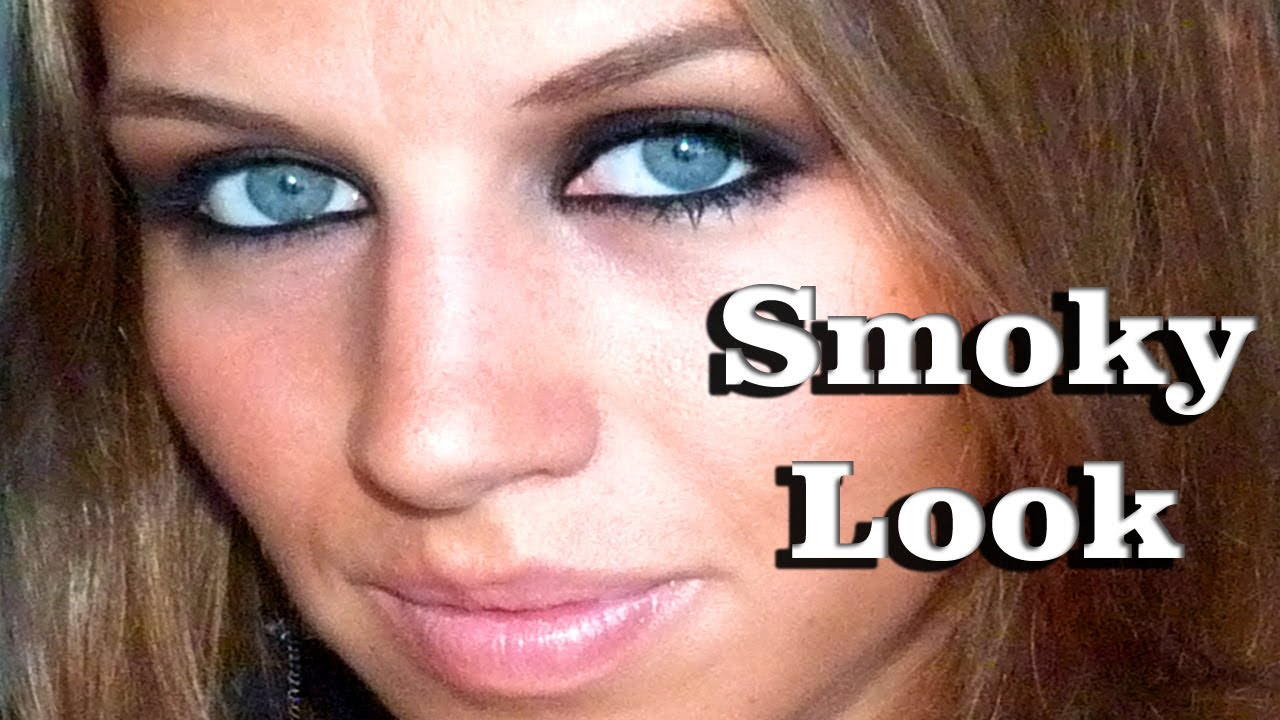 maquillage smoky eyes noir youtube. Black Bedroom Furniture Sets. Home Design Ideas