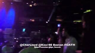 Cher Lloyd OATH WXKS KISS 108 Boston 12 06 12 Epic Records @EpicPromotion