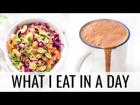 39. WHAT I EAT IN A DAY + superfood hot chocolate recipe 🍫
